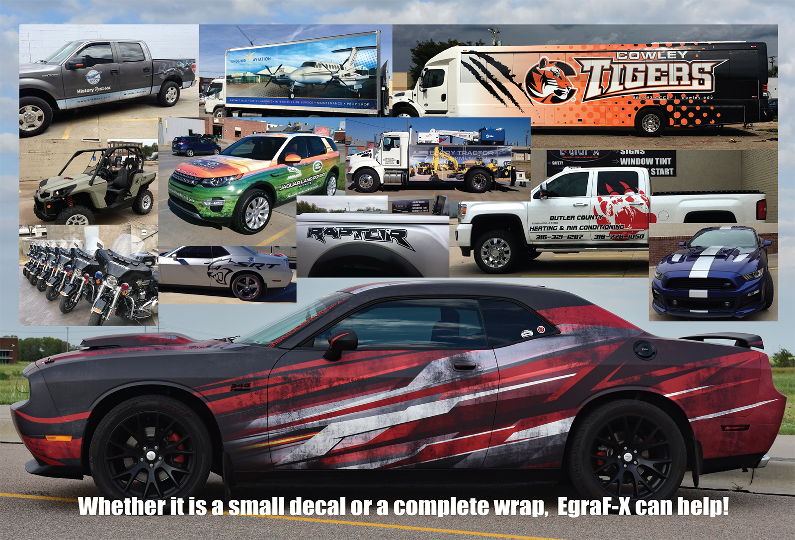 Vehicle Wraps Wichita KS