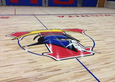 Gym floor Wichita KS